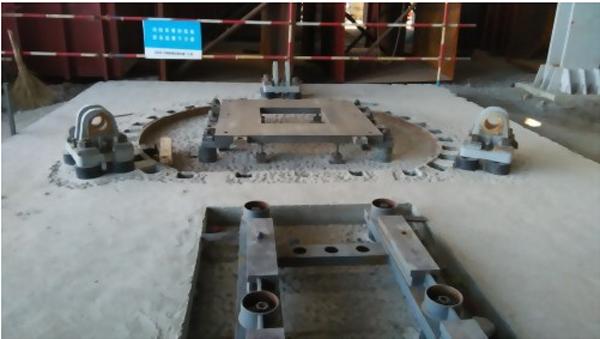 截止4月18日,已完成所有5台磨煤机减速箱得二次灌浆工作,计划5月15日